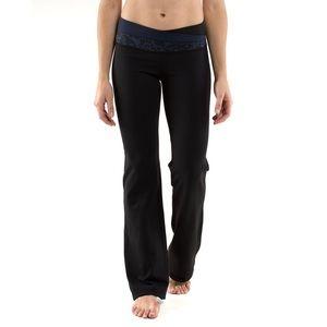 Lululemon Paisley Print Wide Leg Yoga Pants Size 8